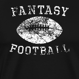 Vintage Fantasy Football Distressed - Men's Premium T-Shirt