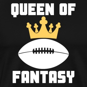 Queen Of Fantasy Football Funny - Men's Premium T-Shirt