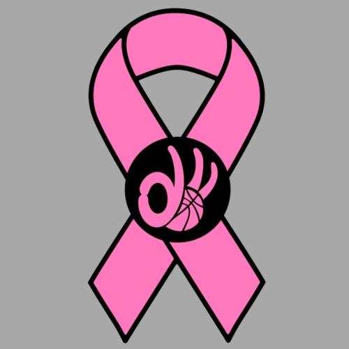 3d Breast Cancer Awareness Logo - Men's Premium T-Shirt