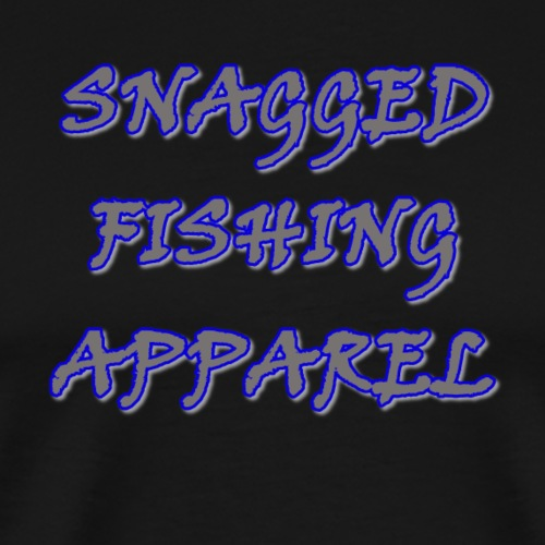 Snagged Fishing - Viner Text - Lite - Men's Premium T-Shirt