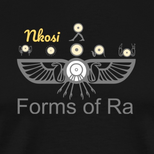 Nkosi - Forms of Ra Design - Men's Premium T-Shirt