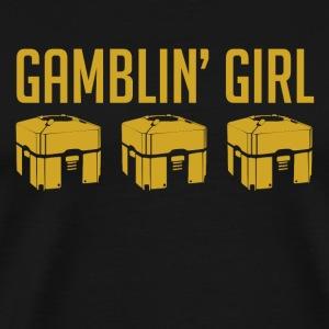 Gamblin' Girl - Men's Premium T-Shirt