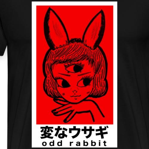 Hen'na Usagi (Red Block) - Men's Premium T-Shirt