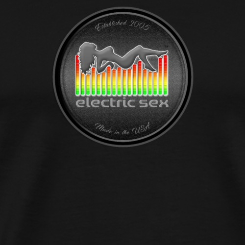 Electric Sex Black Logo T Shirt Design [Apparel] - Men's Premium T-Shirt
