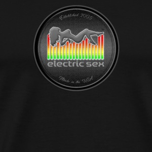 Electric Sex Black Logo T Shirt Design [Apparel] - Men's Premium T-Shirt
