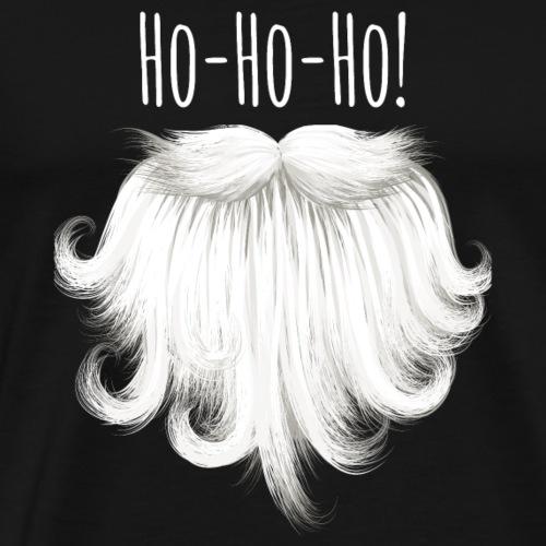 Ho-ho-ho. Santa's Beard Gifts for Christmas - Men's Premium T-Shirt