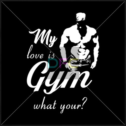 1 DFC S 010 my love is GYM - Men's Premium T-Shirt