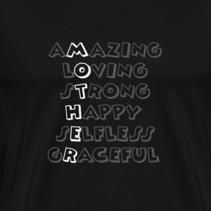Amazing Mother - Men's Premium T-Shirt