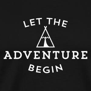 adventure begin - Men's Premium T-Shirt