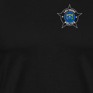 Las Vegas Police T Shirt - Nevada flag - Men's Premium T-Shirt
