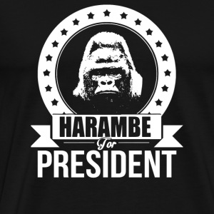 Harambe For President - Men's Premium T-Shirt