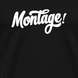 Montage - Men's Premium T-Shirt