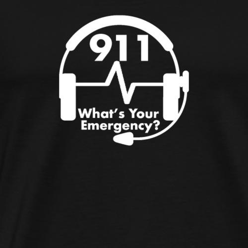 911 Emergency Dispatch Operator Shirt - Men's Premium T-Shirt