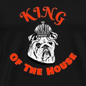 Love My English Bulldog Animal T-Shirt - Men's Premium T-Shirt