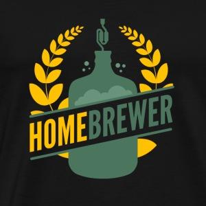 Homebrewer - Men's Premium T-Shirt