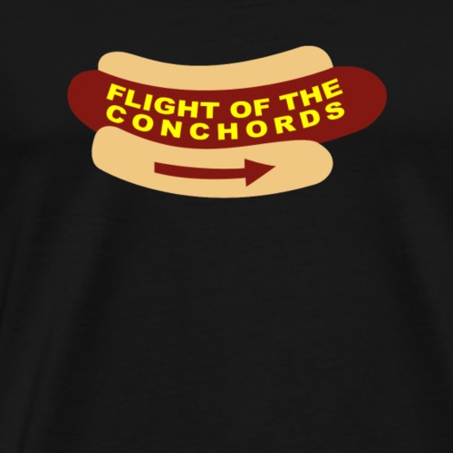 Flight of the Conchords Band Sign tshirt - Men's Premium T-Shirt