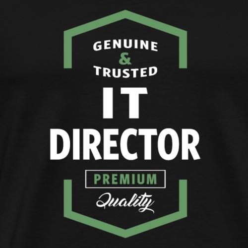 IT Director Logo Tees - Men's Premium T-Shirt