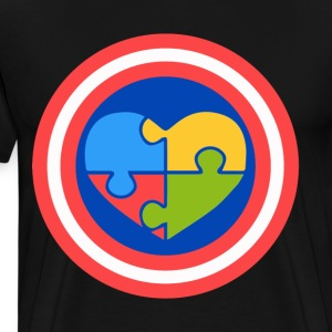 Autism superhero - Men's Premium T-Shirt