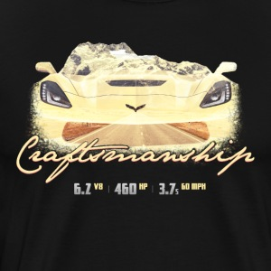 Craftmanship Sport Car - Men's Premium T-Shirt