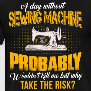Sewing Machine T Shirt - Men's Premium T-Shirt