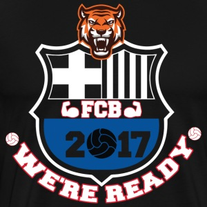 FC Barcelona Football Shirts 2017 - Men's Premium T-Shirt