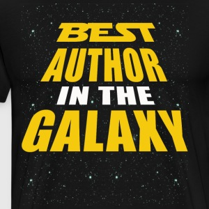 Best Author In The Galaxy - Men's Premium T-Shirt