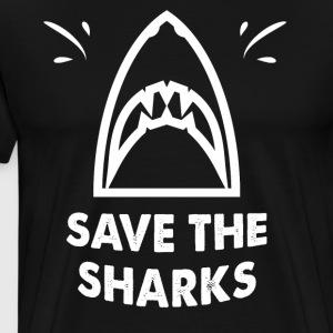 Save the sharks - Men's Premium T-Shirt