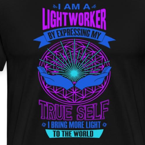 I am Lightworker - Men's Premium T-Shirt