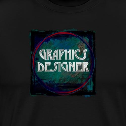 Graphics Designer New Design - Men's Premium T-Shirt