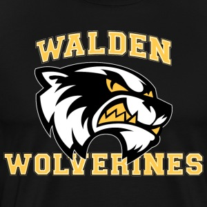 Classic Walden Wolverines - Men's Premium T-Shirt