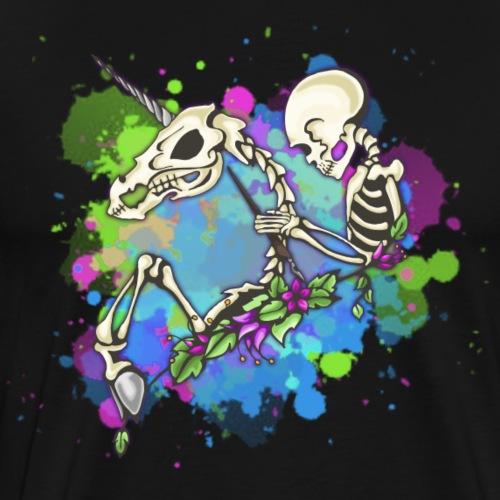 Skeletal Knight - Men's Premium T-Shirt