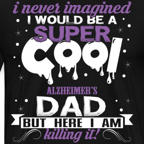 Alzheimer's Awareness - Men's Premium T-Shirt