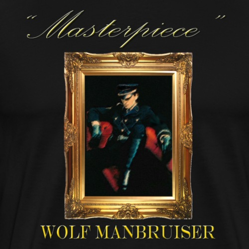 Wolf Manbruiser - Men's Premium T-Shirt