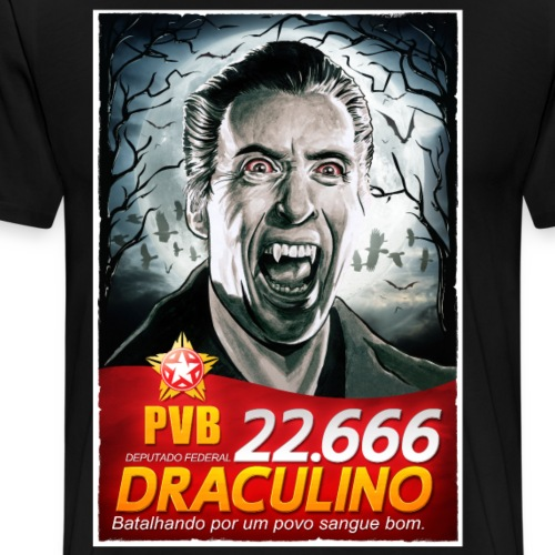 Dracula wants your vote - Men's Premium T-Shirt