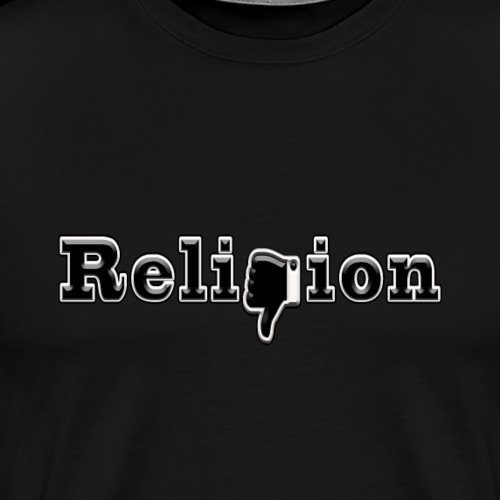 Dislike Religion - Men's Premium T-Shirt