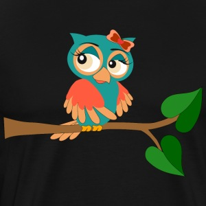 owl sexy - Men's Premium T-Shirt