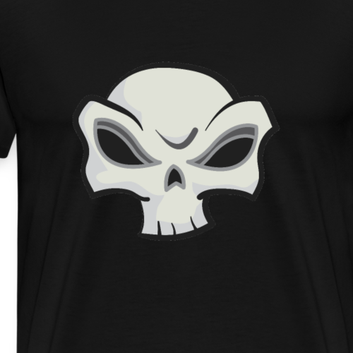 Skull Vector - Men's Premium T-Shirt