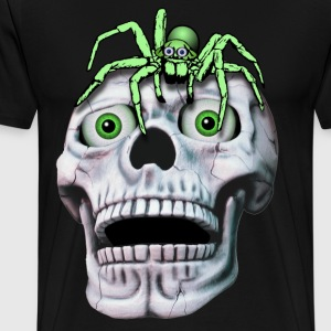 skull and spider - Men's Premium T-Shirt