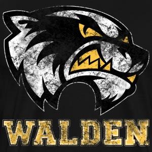 Walden Wolverine - Grunge - Men's Premium T-Shirt