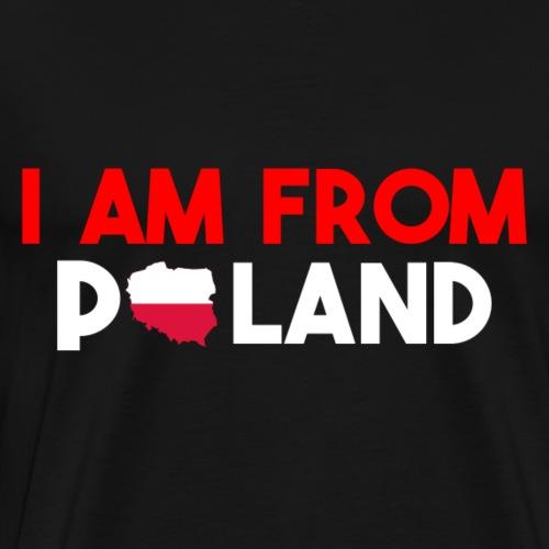 I am from POLAND - Men's Premium T-Shirt