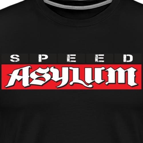 Speed Asylum Logo - Men's Premium T-Shirt