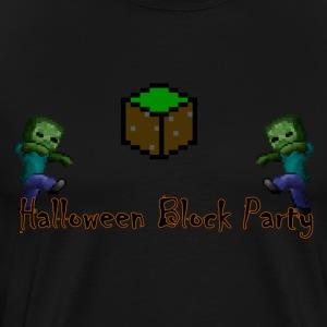Halloween Block Party - Men's Premium T-Shirt