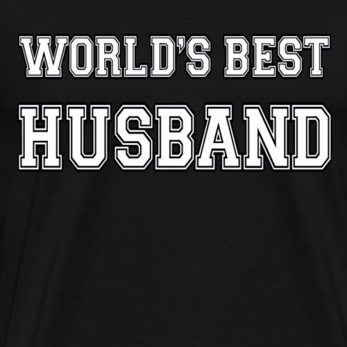 World's Best Husband - Men's Premium T-Shirt