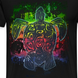 Worn Turtle - Men's Premium T-Shirt