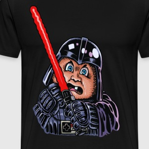 Angry Dirk in the Force - Men's Premium T-Shirt