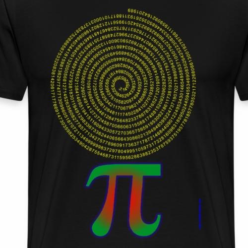 PI Number Art - Men's Premium T-Shirt