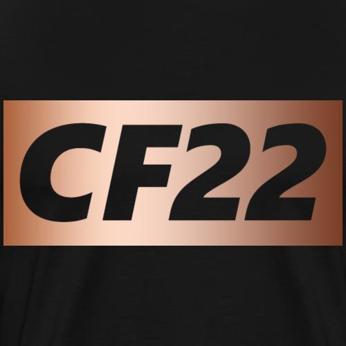 CF22 Box Logo Copper - Men's Premium T-Shirt