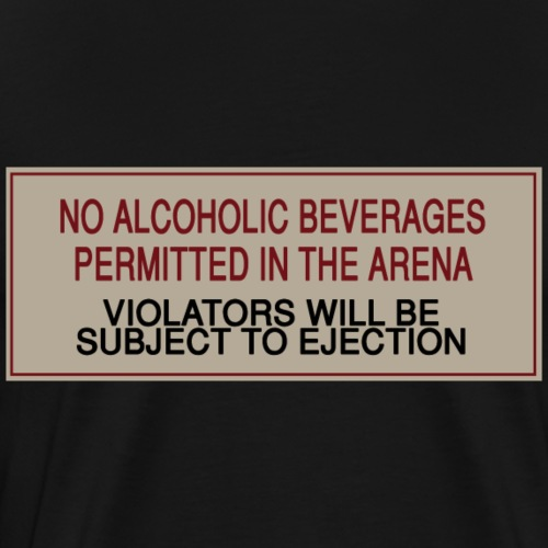 Arena Sign - Men's Premium T-Shirt
