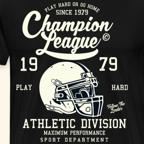 Champion League 1979 - Men's Premium T-Shirt
