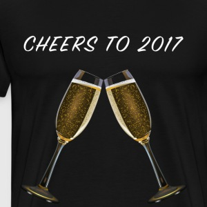 Cheers to 2017 - Men's Premium T-Shirt